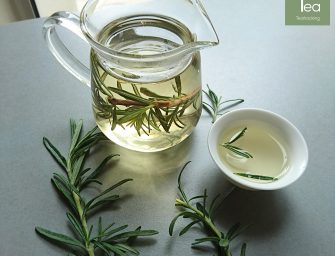 Tea hack: Rosemary and travel