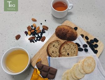 Tea and Snacks – Your options of Green or Black tea